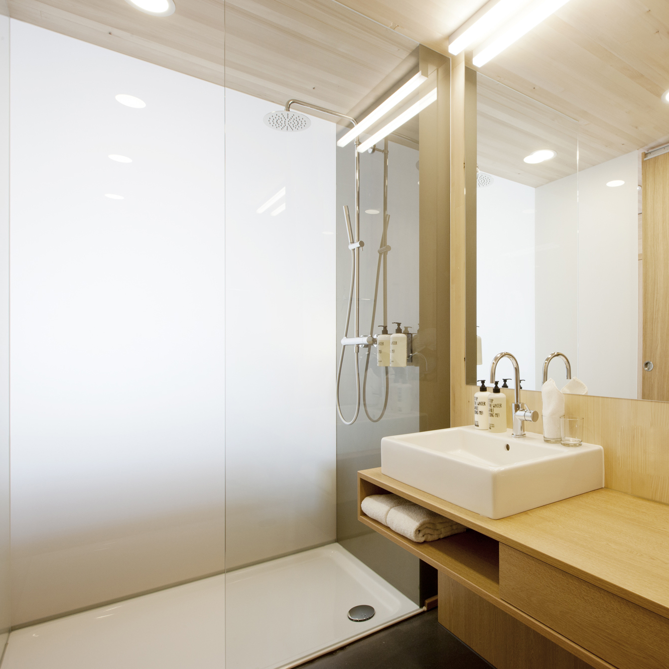 Smart Single Badezimmeransicht